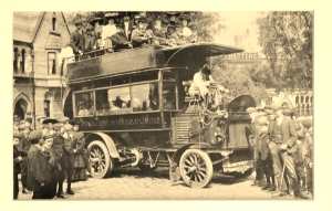 Nantwich & Crewe Omnibus 1910