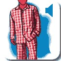 Man in pyjamas 2
