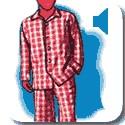 Man in pyjamas 2