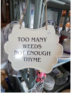 Too many weeds